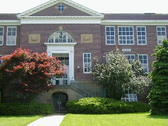 Oberlin High School Building 1926 - 1960 (now Langston Middle School)